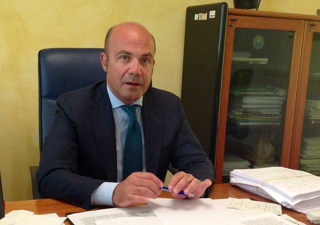 antonio candela, commissario Asp 6 Palermo
