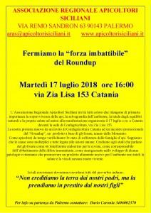 locandina manifestazione 17 luglio -