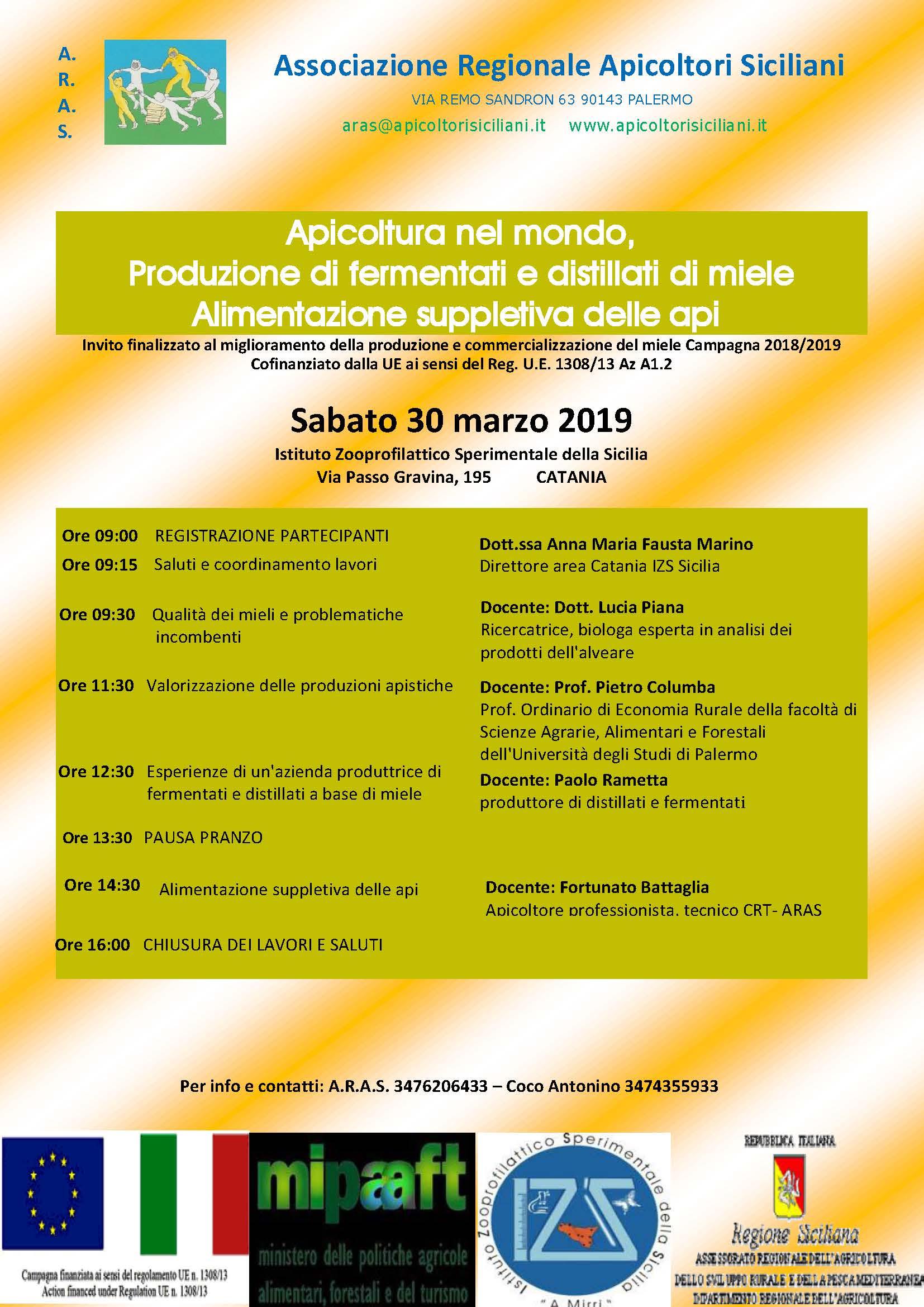 Apicoltori siciliani 2009 2019 a r a s associazione for Mondo catania