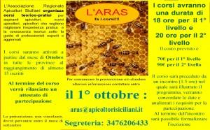 locandina aras fa i corsi ottobre2019 im