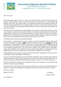 comunicato n 10 del Presidente ARAS