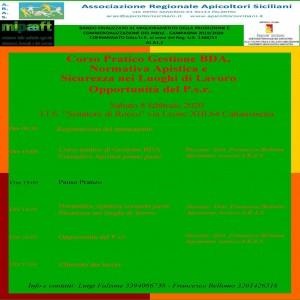 locandina Gestione BDA
